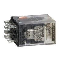 SCHNEIDER 8501RSD14M1P14V53 | RELAIS 240 VAC 5 A TYP R +...
