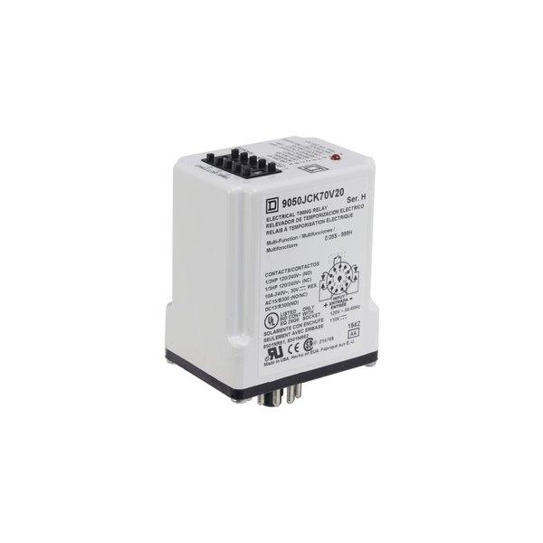 SCHNEIDER 9050JCK70V20 | TIMER-RELAIS 120 V AC, 10 A, TYP JCK