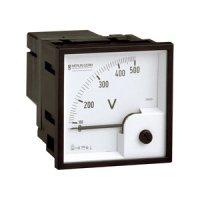 SCHNEIDER 16005 | Analoges Voltmeter VLT, 72x72mm, 0-500 V