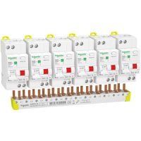 SCHNEIDER R9D01610KIT | FI/LS Resi9 KIT 6 x 1P+N, 10A,...