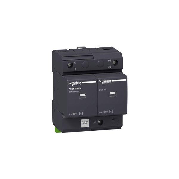 SCHNEIDER 16361 | Blitzstromableiter TYP1 PRD1 Master 1P+N, Uc 350V