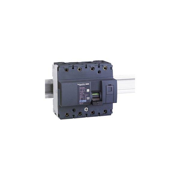 SCHNEIDER 18647   Leistungsschalter NG125N, 3P+N, 100A, C-Charakteristik