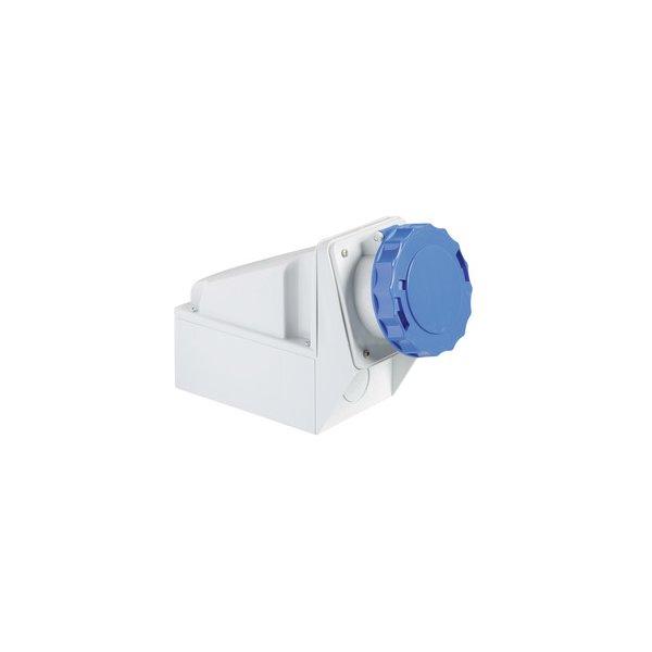 SCHNEIDER 81190 | Wandsteckdose, 125A, 2p+E, 200-250 V AC, IP67