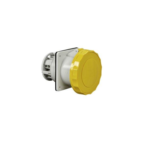 SCHNEIDER 81689 | Anbausteckdose gerade- 125A, 3p+N+E, 100-130 V AC, IP67