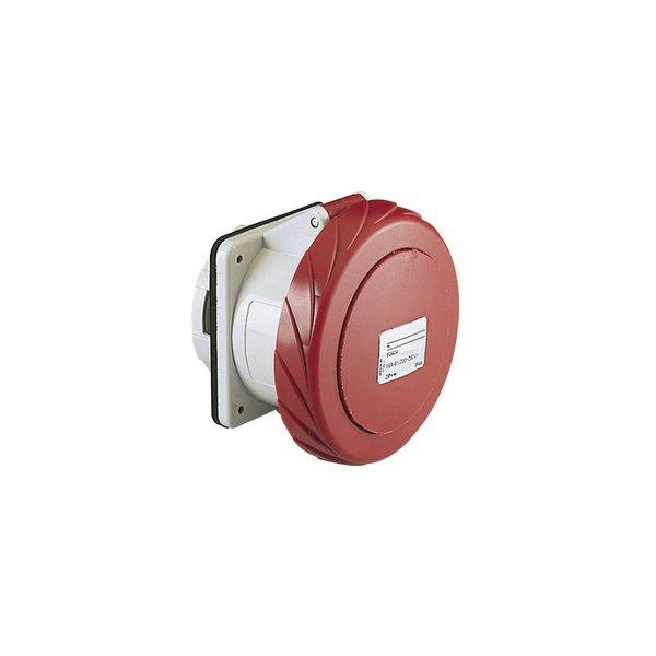 SCHNEIDER 81695   Anbausteckdose gerade- 125A, 3p+N+E, 380-415 V AC, IP67