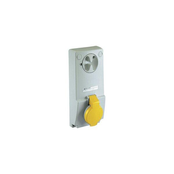 SCHNEIDER 82029 | Anbausteckdose verriegelt, 16A, 3p+E, 100-130 V AC, IP44