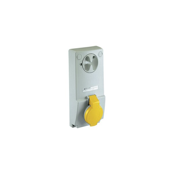 SCHNEIDER 82040   Anbausteckdose verriegelt, 32A, 3p+E, 100-130 V AC, IP44