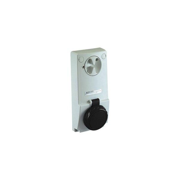 SCHNEIDER 82087   Anbausteckdose verriegelt, 16A, 3p+E, 480-500 V AC, IP65
