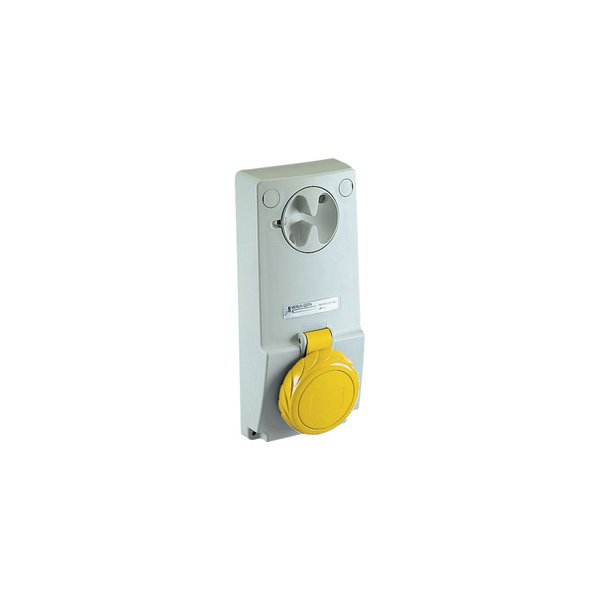 SCHNEIDER 82091   Anbausteckdose verriegelt, 32A, 3p+N+E, 100-130 V AC, IP65