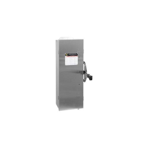 SCHNEIDER DTU362DS   Sicherheitsschalter Dt, 600V, 60A, 3 P, Nema4 4X 5
