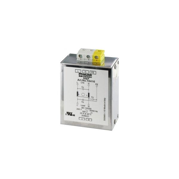 10416 - MEF Netzentstörfilter 1-phasig 1-stufig
