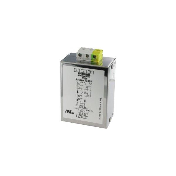 10470 - MEF Netzentstörfilter 1-phasig 2-stufig