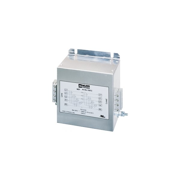 10572 - MEF Netzentstörfilter 3-phasig 1-stufig mit N