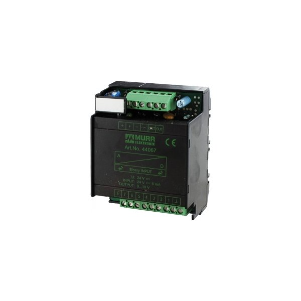 44067 - D/A-Wandler 8-bit - Spannungsausgang 0 ... 10V