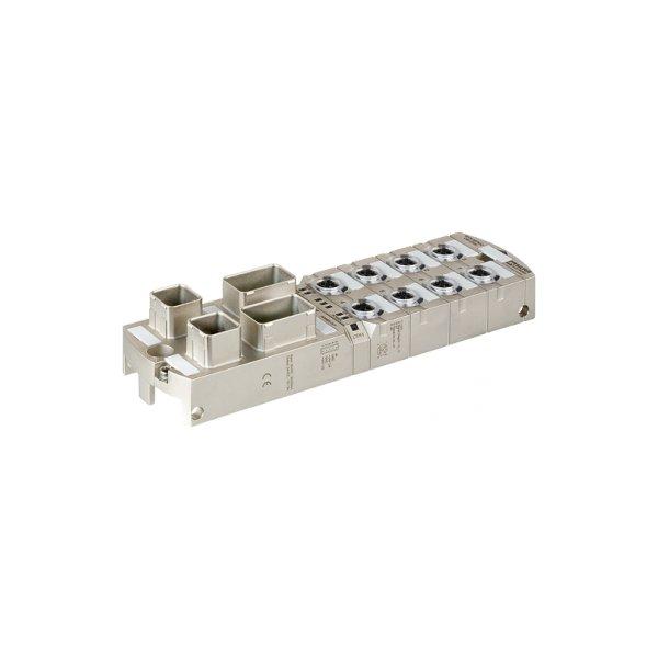 55529 - MVK+ MPNIO DI8 DO8 IRT Push Pull galvanische Trennung